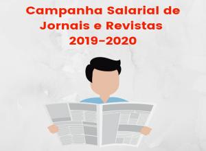 Jornais e Revistas: começa a campanha salarial 2019-2020