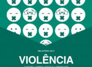 Violência contra jornalista caiu em 2017