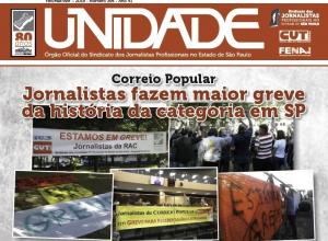 Jornal Unidade destaca greve histórica na RAC