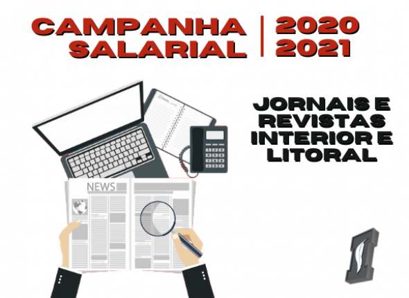 Sindicato assinou Convenção de Jornais e Revistas do interior