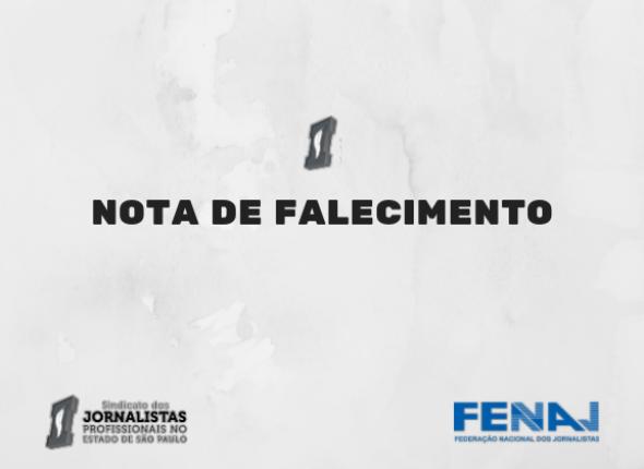 SJSP lamenta a morte do fotojornalista Sérgio Jorge por covid-19