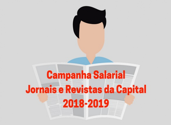 Sindicato inicia Campanha de Jornais e Revistas da Capital