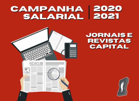 Campanha Salarial de Jornais e Revistas da capital tem primeira rodada de negociação nesta semana