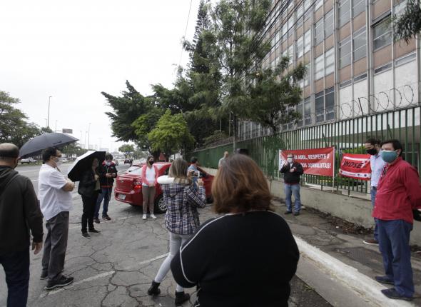 Jornalistas se mobilizam contra cassação da liberação sindical do presidente do SJSP