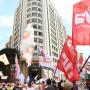 Protesto da CUT e centrais em SP denuncia política de Bolsonaro de desmonte do INSS