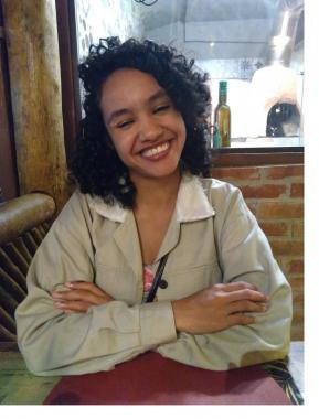 A jovem jornalista Beatriz Sanz é a idealizadora do projeto Banco de Talentos Negros / Foto: Arquivo pessoal