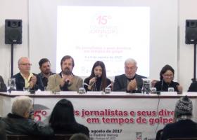 Abertura do 15º Congresso de Jornalistas