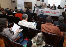 Abertura do 15º Congresso Estadual dos Jornalistas
