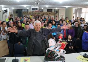 Aniversário de 85 anos do Audálio Dantas