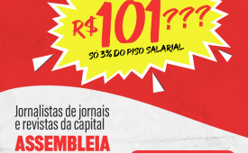 Assembleia de jornais e revistas da capital: sexta (22), às 10h