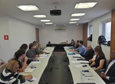 Até a próxima rodada, Sindicato dialoga com os jornalistas para apresentar uma contraproposta às empresas. Foto: Flaviana Serafim/SJSP