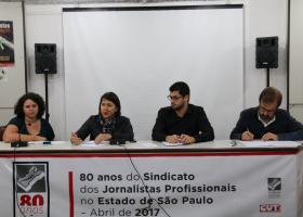 Ato-debate em Defesa da Liberdade de Expressão, Contra a Censura e a Intimidação de Jornalistas nas Redes Sociais
