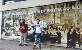 Cojira e Sjsp denunciam assédio policial contra o jornalista Guilherme Soares Dias