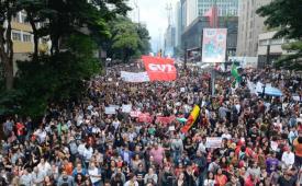 CUT e demais centrais voltam às ruas com os estudantes no dia 30 de maio