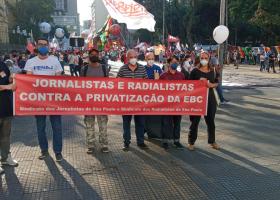 Dia de Mobilização em defesa da EBC e contra a MP 1045