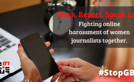 Federação Internacional dos Jornalistas dá dicas de como denunciar assédio nas redes