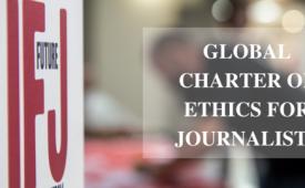 Federação Internacional dos Jornalistas apresenta Carta Mundial de Ética para jornalistas