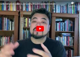 Leonardo Sakamoto adere à campanha #AbrilRespeiteoSindicato