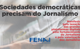 Manifesto pela criação de fundo público para o jornalismo profissional