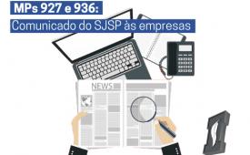 MPs 927 e 936: Comunicado do Sindicato dos Jornalistas às empresas