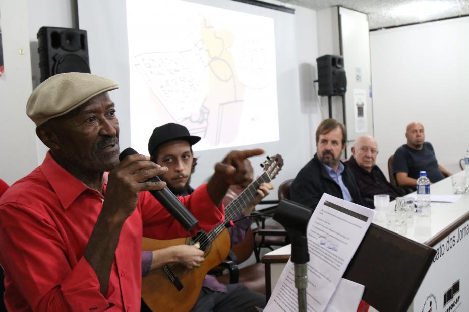 O sambista Toinho Melodia