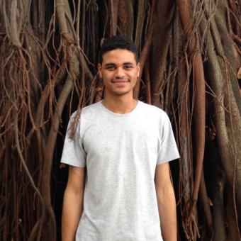 Ruam Oliveira é um dos jornalistas que se dedica, voluntariamente, a organizar o banco de talentos / Foto: Arquivo pessoal