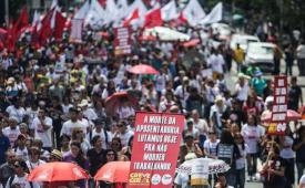 Rumo à greve geral, centrais convocam trabalhadores para 1º de maio histórico