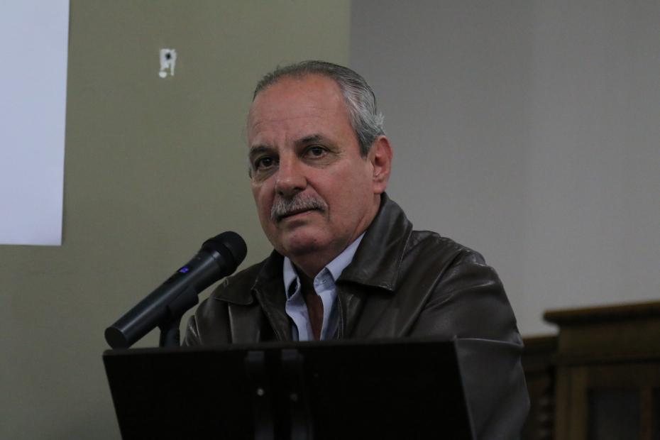 Sergio Ipoldo, presidente do Radialistas-SP