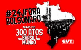 Sindicato convoca jornalistas para ato contra Bolsonaro no sábado (24)