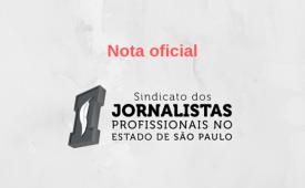 Sindicato dos Jornalistas de SP apoia greve dos jornalistas de Alagoas