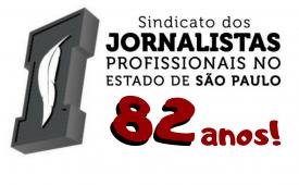 Sindicato dos Jornalistas SP: 82 anos de luta pelos direitos e pela democracia