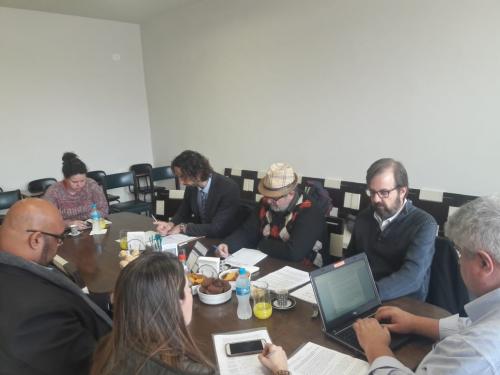 Sindicato dos Jornalistas também defendeu a inclusão de novas cláusulas para garantir condições de trabalho. Foto: Flaviana Serafim/SJSP