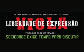 Votação do PL das fake news põe em risco liberdade de expressão online e não pode ser votado às pressas